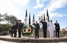 Conmemoran el 172 Aniversario de la Gesta Heroica de los Niños Héroes de Chapultepec