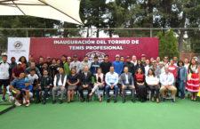 """Inaugura Oswaldo García torneo de tenis """"Copa Ciudad de Oaxaca 2019"""""""