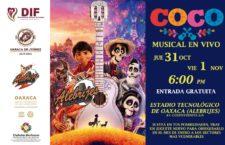 """Invita DIF de Oaxaca de Juárez a disfrutar de """"Coco, el musical"""""""