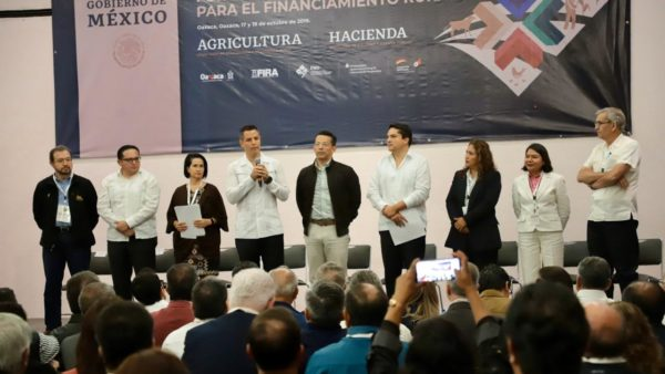 Oaxaca sentará las bases para el diseño de nuevas políticas públicas de financiamiento al sector agropecuario