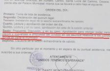 Edil de Santa Lucía del camino Dante Montaño, atenta contra los derechos políticos de las mujeres