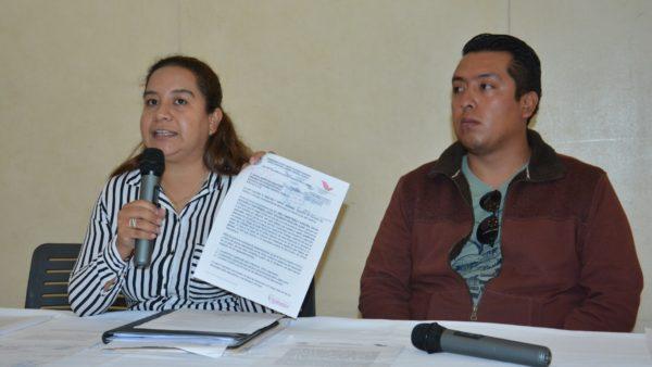 Denuncian a Dante Montaño por violencia política de género y amenazas a regidora