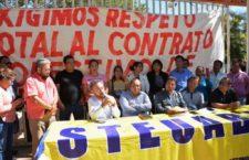 Se unen sindicatos a paro, ante incumplimiento de pago de la UABJO