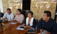 Concejales del ayuntamiento de Suchilquitongo exigen revocación de mandato para edil