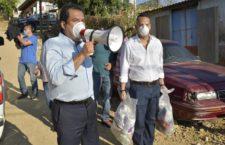 Activa edil Oswaldo García programa de apoyo emergente para familias en situación de pobreza