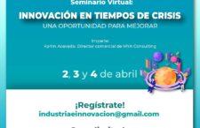 """Realizará Secretaría de Economía seminario virtual """"Innovación en Tiempos de Crisis"""""""