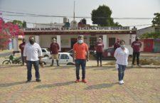 En San Juan Chapultepec, Ayuntamiento refuerza medidas sanitarias ante COVID-19