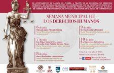 Invita Ayuntamiento de Oaxaca a la Semana Municipal de los Derechos Humanos