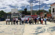 Agradece Alfonso Vásquez apoyo del gobierno del Estado por apoyo para afectados por sismo en San Antonio de la Cal
