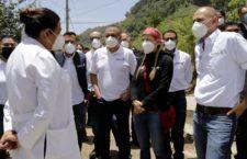 Ni la pandemia ni los fenómenos naturales impedirán llevar los apoyos a las familias oaxaqueñas: IMM