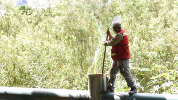 Continúan acciones de mantenimiento en sistema sanitario de la ciudad: SAPAO