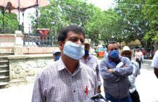 Pide Alfonso Vásquez a la Fiscalía del Estado investigar incendio en palacio municipal de San Antonio de la Cal