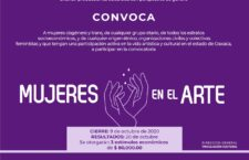 Emite Seculta resultados de la convocatoria Mujeres en el Arte