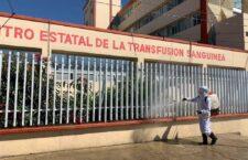Desinfecta Ayuntamiento zonas aledañas a hospitales públicos de Oaxaca de Juárez