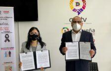 Firma IOAM y CORTV convenio a favor de la comunidad migrante