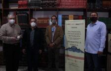 "Entrega Seculta acervo de resguardo a la Hemeroteca ""Néstor Sánchez Hernández"""