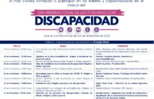 DIF Estatal Oaxaca invita a participar en las actividades organizadas en el marco del Día Internacional de las Personas con Discapacidad