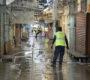 Emprenden Ayuntamiento y Cuerpo de Bomberos tercer saneamiento en el Mercado de Abasto