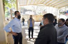 Cumple Ayuntamiento de Oaxaca con techado de la Unidad Deportiva de la colonia Manuel Sabino Crespo