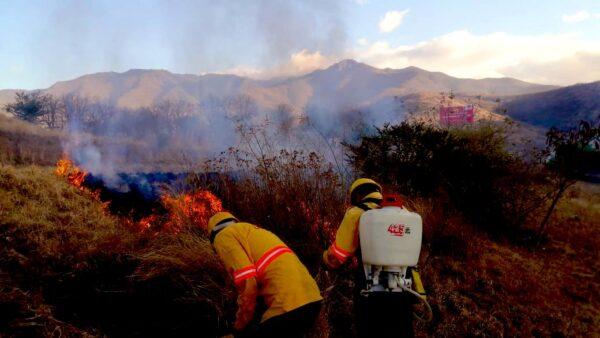 Declaran 13 municipios en emergencia por incendios forestales en Oaxaca