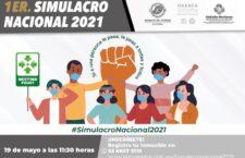 El próximo 19 de mayo, Oaxaca de Juárez participará en el simulacro nacional de sismo