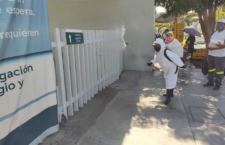 Refuerza Ayuntamiento de Oaxaca acciones de desinfección en espacios públicos de la ciudad
