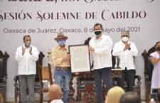 Reconoce Ayuntamiento 2,521 años de Oaxaca de Juárez como Ciudad Ancestral