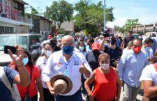 Lamenta Javier Villacaña el abandono a las colonias por parte de la administración morenista