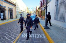 Ayuntamiento de Oaxaca de Juárez ha implementado 251 operativos para garantizar la seguridad pública