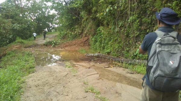 Atiende CAO tramos carreteros afectados por lluvias