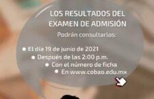 Cobao realiza con éxito examen de admisión en línea