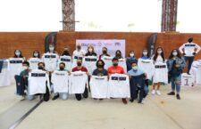Nuestro compromiso es con las y los deportistas de Oaxaca, quienes son los que ponen el alto el nombre de nuestro estado: IMM