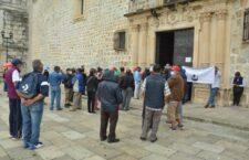 Jubilados y pensionados del ayuntamiento de Oaxaca de Juárez, exigen el pago del finiquito