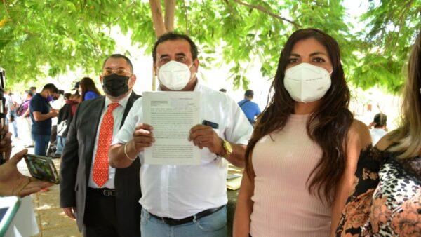 Presentan regidores denuncia penal contra presidenta municipal de San Jacinto Amilpas
