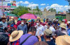 Segego y Segob mantienen el diálogo con pobladores de Tierra Blanca y MULT-I
