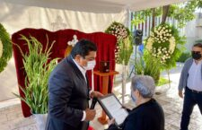 Rinde Segego homenaje póstumo a Rodolfo Quintero de Pablo