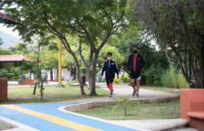 Destacan usuarios de parques importancia de seguir reglas sanitarias