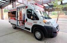 Con ambulancias nuevas y equipadas, mejoramos la movilidad de personas que necesitan ser trasladadas por urgencia médica: IMM