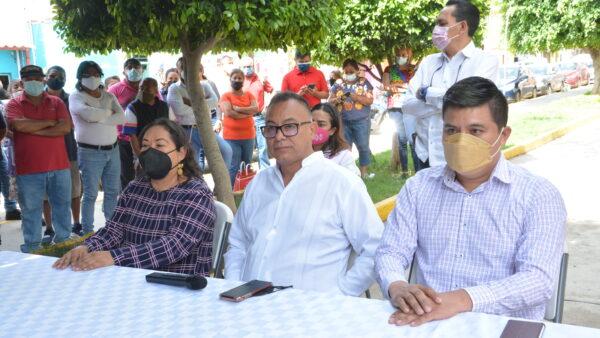 Listos Inocente Castellanos y Fuerza por México para la elección extraordinaria en Xoxocotlán