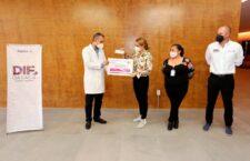 La salud de las oaxaqueñas, es una prioridad para el Gobierno de mi esposo, Alejandro Murat Hinojosa: IMM