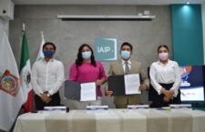 IAIP y CECYTEO firman convenio de colaboración