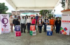La Secretaría de Bienestar lleva Caravanas Sociales a diversos municipios del Valle Eteco